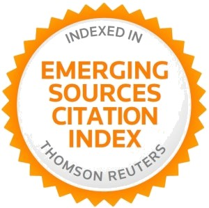 Thomson Reuters' Emerging Sources Citation Index (ESCI)